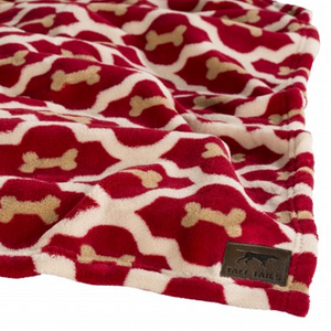 Tall Tails Fleece Blanket 30x40