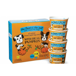 The Bear & The Rat Frozen Yogurt for Dogs 4pk