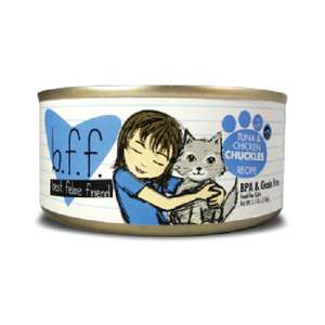 BFF Originals Tuna & Chicken Chuckles Recipe in Aspic Canned Cat Food