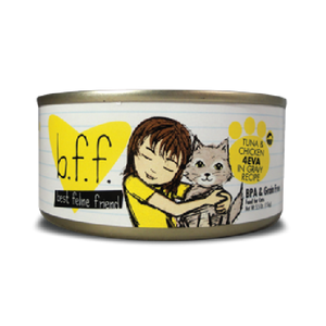 BFF Originals Tuna & Chicken 4EVA Recipe in Gravy Canned Cat Food