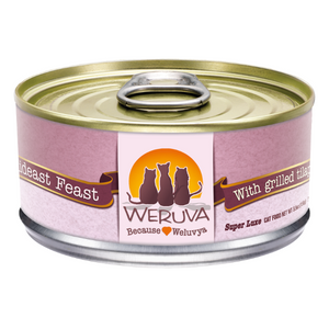 Weruva Mideast Feast with Grilled Tilapia in Gravy Canned Cat Food