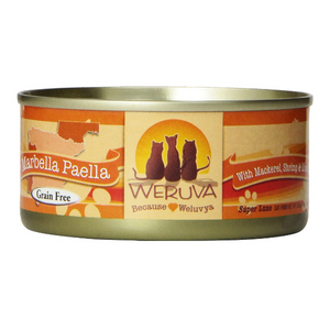 Weruva Marbella Paella with Mackerel, Shrimp & Mussels Canned Cat Food