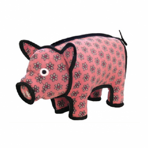 VIP Tuffy's Barnyard Series Polly Pig Dog Toy