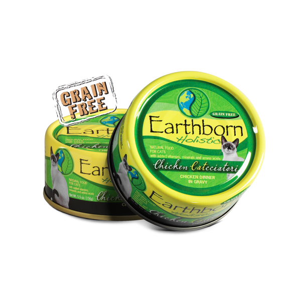 Earthborn Holistic Chicken Catcciatori Grain-Free Natural Canned Cat & Kitten Food