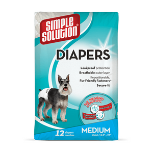 Simple Solution 12 Disposable Diapers