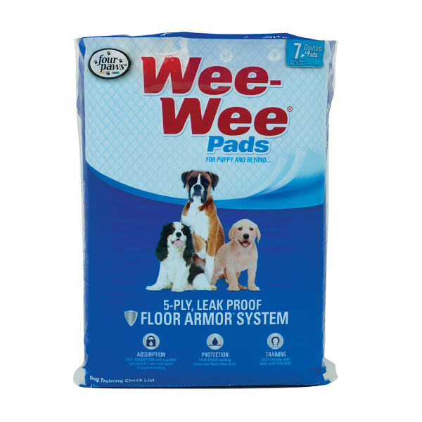 "Four Paws Wee-Wee Pet Training and Puppy Pads, 22"" x 23"""
