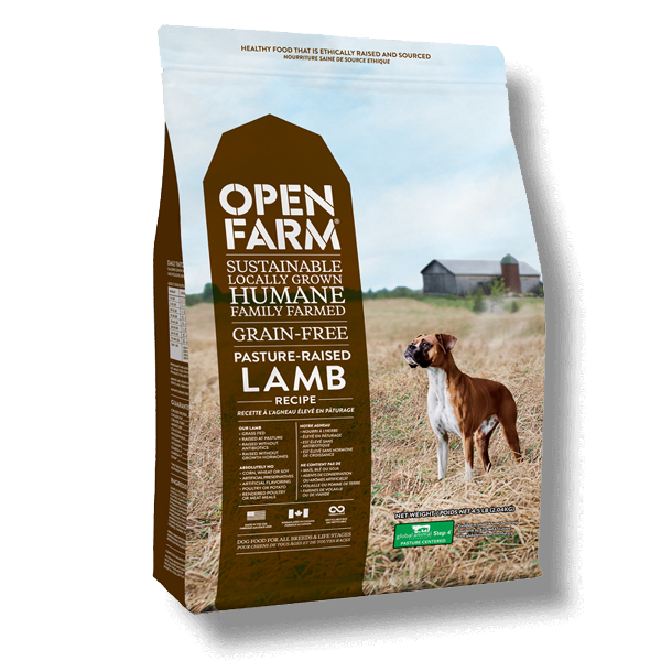 Open Farm Farmer's Pasture Raised Lamb Recipe Grain-Free Dry Dog Food
