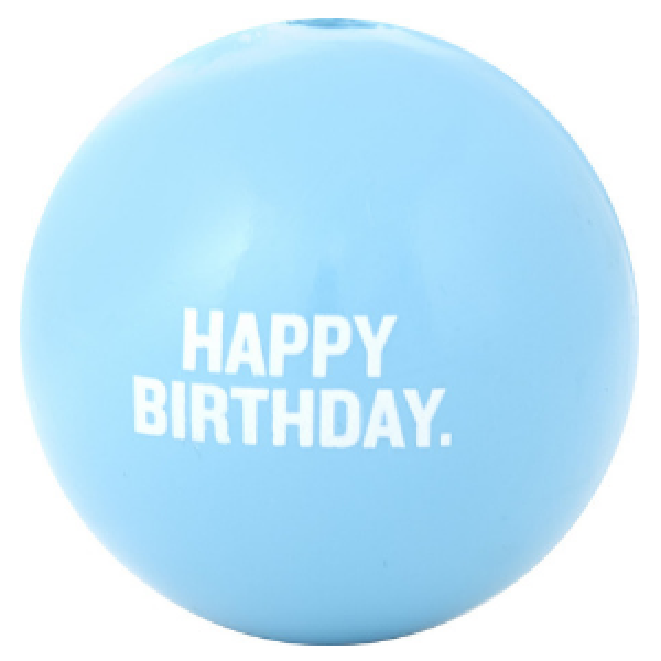 Planet Dog Orbee-Tuff Happy Birthday Ball Dog Toy