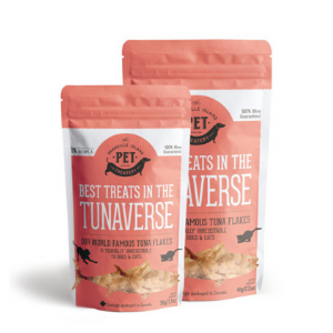The Granville Island Pet Treatery Tuna Flakes Dog and Cat Treats