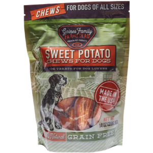 Gaines Family Farmstead Sweet Potato Chews Dog Treats