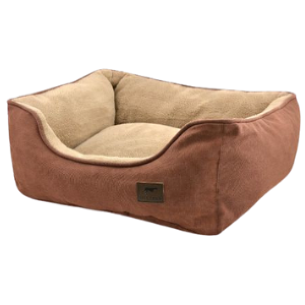 Tall Tails Dream Chaser Bolster Bed Brown