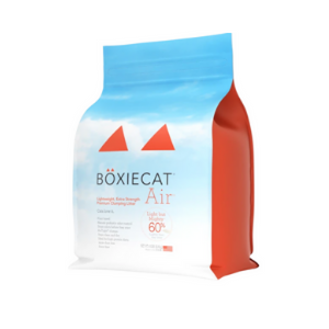 Boxiecat Air Lightweight Extra Strength Premium Clumping Litter