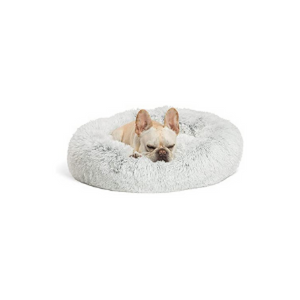 Sentiments The Original Calming Shag Donut Cuddler Pet Bed