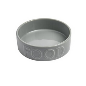 Park Life Designs Classic Food Bowl Grey