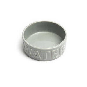 Park Life Designs Classic Water Bowl Grey