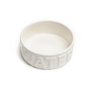 Park Life Designs Classic Water Bowl White