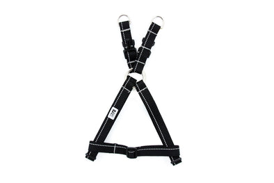 RC Pets Products Primary Black Step In Dog Harness