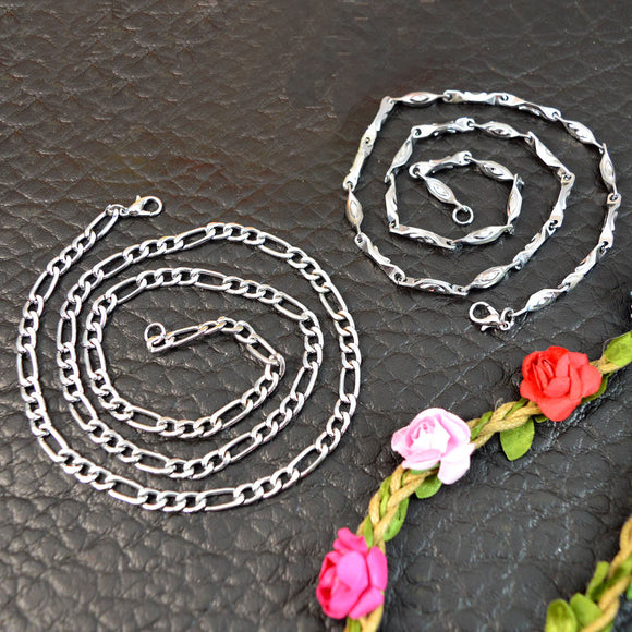 Steel Chain Necklaces