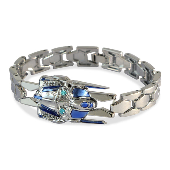 Men's Transformer Silver Color Bracelet