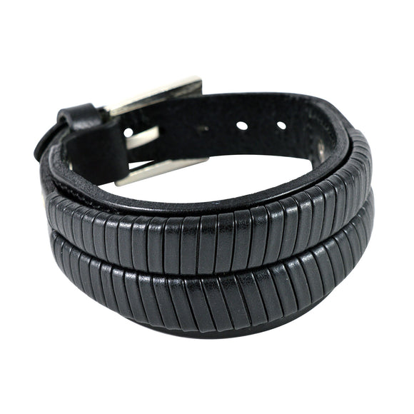 Sarah Broad Stylish Mens Leather Wristband