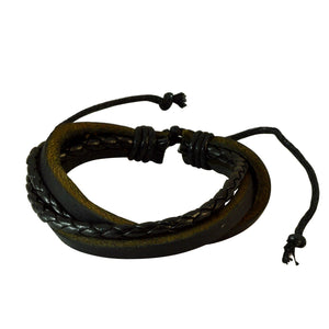 Sarah Fashion Black Multilayer Bracelet for Men