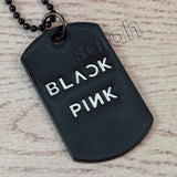 Sarah Military Theme Dog Tag Pendant Necklace for Boys and Girls