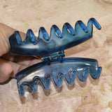Sarah Blue color Plastic Clutcher