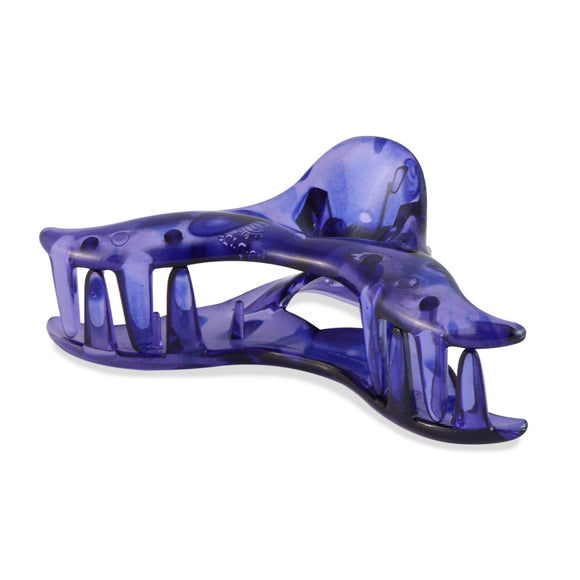 Sarah Purple color Plastic Clutcher