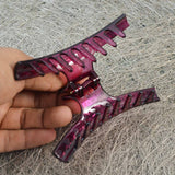 Sarah Pink color Plastic Clutcher