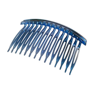 Sarah Blue Plastic Hair Comb for Women