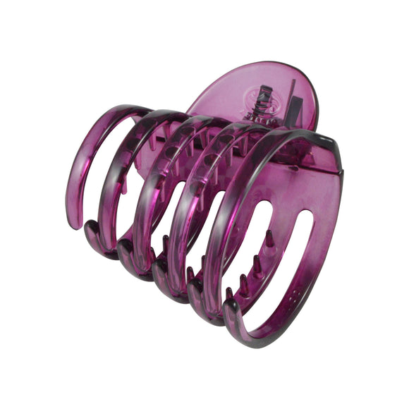 Sarah Round Hair Clutcher - Hair Claw for Women - Pink