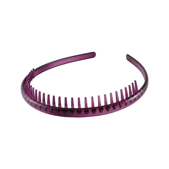Sarah Solid Hair Band for Girls - Pink