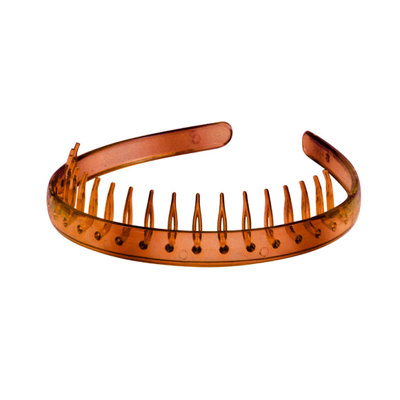 Sarah Plastic Headband with teeth Women & Girls