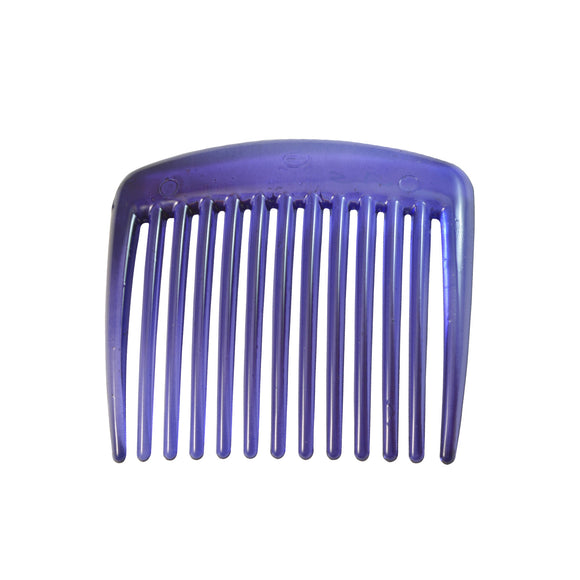 Sarah 13 Teeth Plastic Hair Comb Interlocking Clip Slide Hairpin