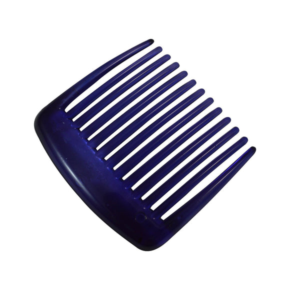 Sarah Purple 5 cm 13 Teeth Small Plastic Hair Comb Clip Hairpin Side Combs Pin for Women and Girls