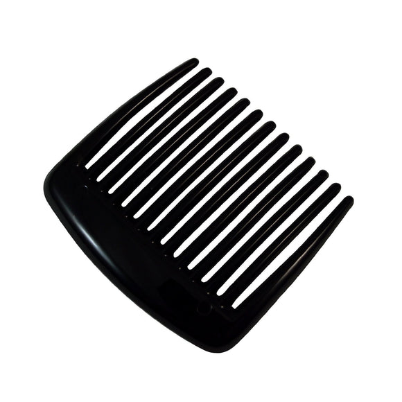 Sarah Black 5 cm 13 Teeth Small Plastic Hair Comb Clip Hairpin Side Combs Pin for Women and Girls