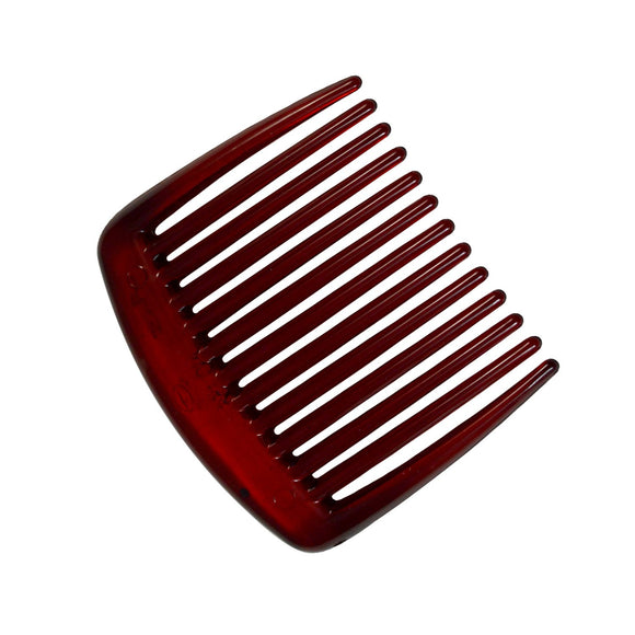 Sarah Red 5 cm 13 Teeth Small Plastic Hair Comb Clip Hairpin Side Combs Pin for Women and Girls