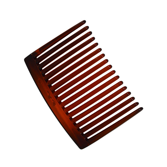 Sarah Brown 5.5 cm 17 Teeth Small Plastic Hair Comb Clip Hairpin Side Hair Combs for Women and Girls
