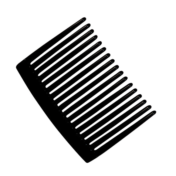 Sarah Black 5.5 cm 17 Teeth Small Plastic Hair Comb Clip Hairpin Side Hair Combs for Women and Girls