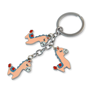 Animal Silver Color Key Chain by Sarah
