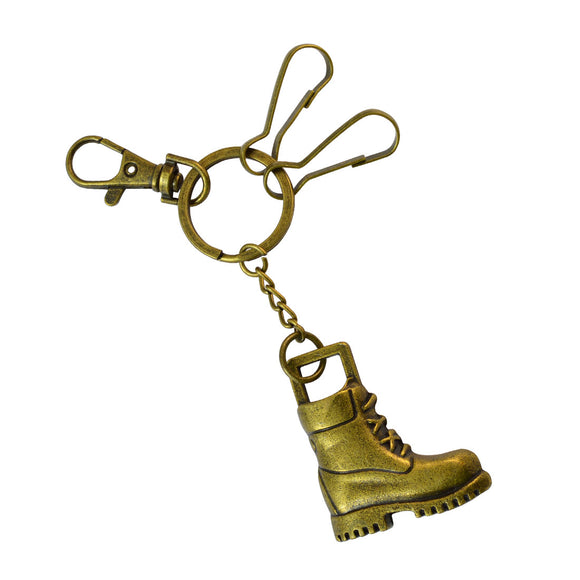 Sarah Shoe Key Chain - Metallic