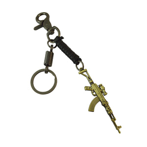 Sarah Metal Playerunknown's Battlegrounds Gun Key Chain Accessories Key Chain Bag Pendant for Girls and Boys