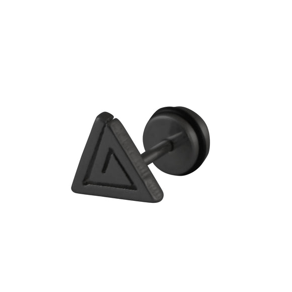 Sarah Triangle Single Stud Earring for Men