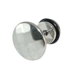 Sarah Mens Modern Stud Earrings / Round Men Earring