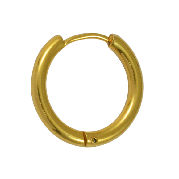 Sarah Medium Size Unisex Single Hoop Earring