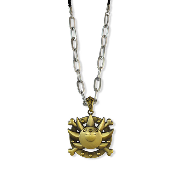 Sarah Panda Sheild Pendant Chain Mens::Boys, Bronze for Everyday wear