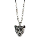 Sarah Lion Pendant Chain Mens::Boys, Silver for Everyday wear