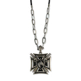 Sarah Sheild Pendant Chain Mens::Boys, Silver for Everyday wear