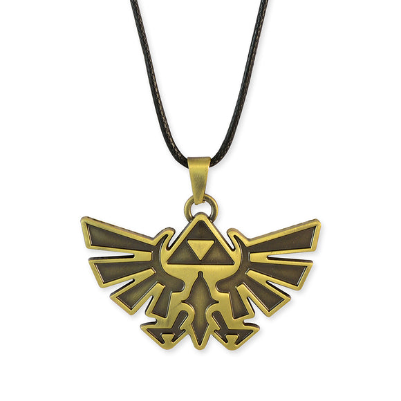 Sarah Eagle Shaped Gold Color Pendant Necklace for Men