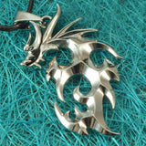Sarah Dragon Silver Color Locket for Men